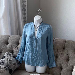 Vince Silk Top Shirt Size 2